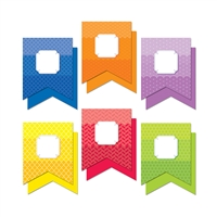 "Painted Palette Pennants 10"" Designer Cut Outs, CTP0651"
