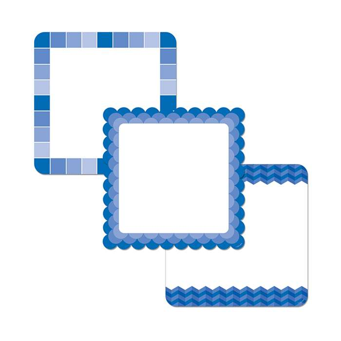 "Blue Chart Cards 10"" Designer Cut Outs - Paint, CTP0658"