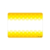 Ombre Yellow Scallops Labels Paint, CTP0715