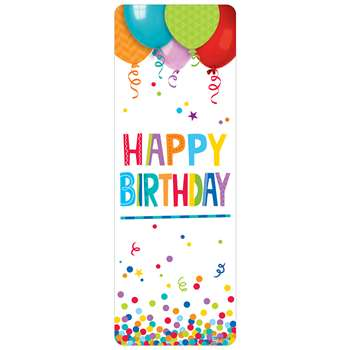 Happy Birthday Bookmark, CTP0749