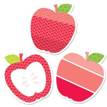 "Apples 3"" Cut Outs Painted Palette, CTP0822"