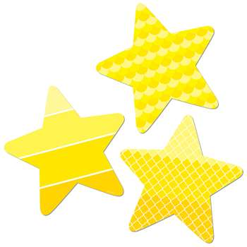 "Stars 3"" Cut Outs Painted Palette, CTP0825"