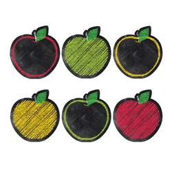 "Chalk It Up Apples 6"" Designer Cut Outs, CTP0856"