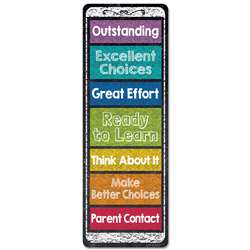 Chalk It Up Desktop Behavior Clip Charts Bookmarks, CTP0864