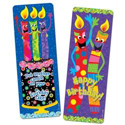 Birthday Candles Bookmarks By Creative Teaching Press