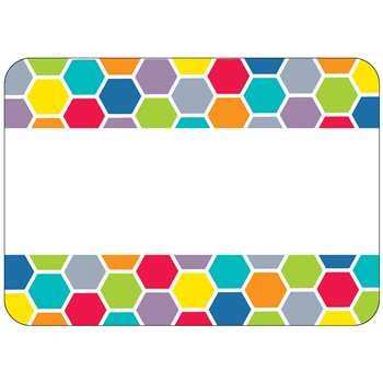 Shop Hexagon Name Tags - Ctp0949 By Creative Teaching Press