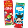 Monkeys Reading Bookmarks By Creative Teaching Press