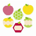 Shop Apples 6In Designer Cut Outs - Ctp0952 By Creative Teaching Press
