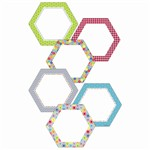Shop Hexagon 6In Designer Cut Outs - Ctp0953 By Creative Teaching Press