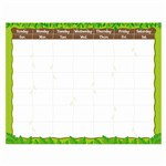 Jungle Calendar Chart By Creative Teaching Press