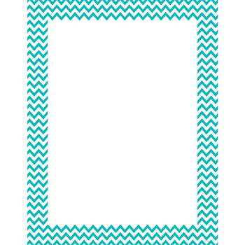 Turquoise Chevron Chart, CTP0967