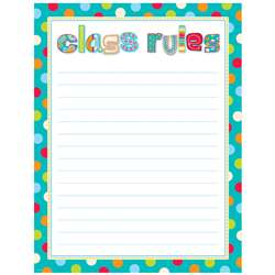 Class Rules Chart By Creative Teaching Press