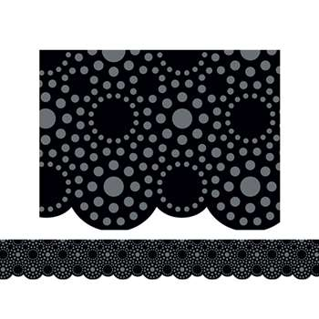 Lots Of Dots Black Border By Creative Teaching Press