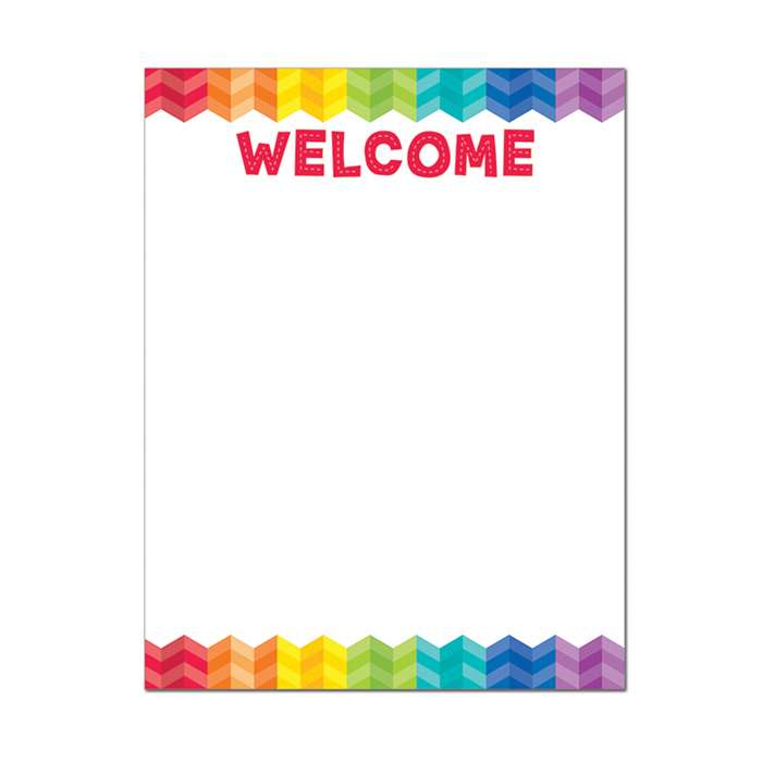 Welcome Chart - Paint, CTP1123