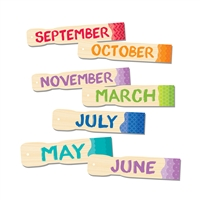 Painted Palette Months Of The Year Headlines, CTP1135