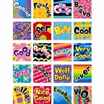 Take A Bow Poppin Patterns Stickers By Creative Teaching Press