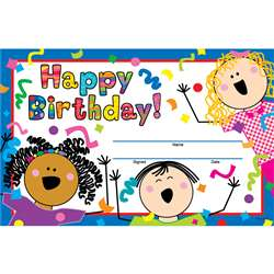 Happy Birthday Awards By Creative Teaching Press