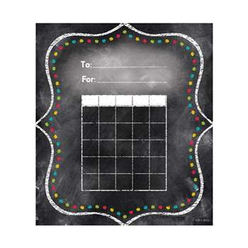Charming Dots Student Incentive Chart - Chalk, CTP1301