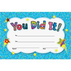 You Did It Awards By Creative Teaching Press