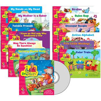 Dr Jean Variety Pack With Cd Prek-1 By Creative Teaching Press