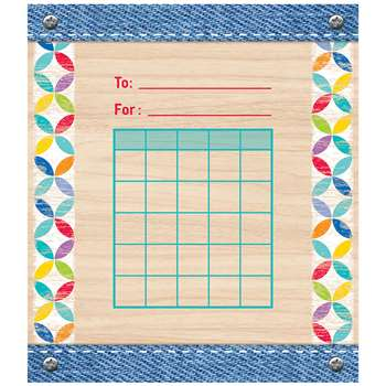 Student Incentive Chart Upcycle Style, CTP1405