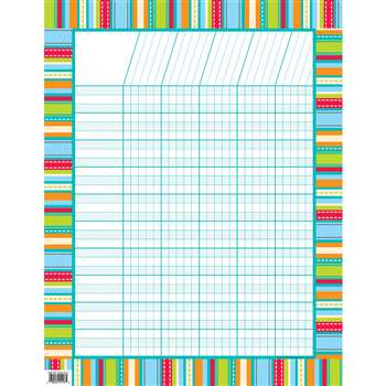 Stripes & Stitches Chart Dot By Creative Teaching Press