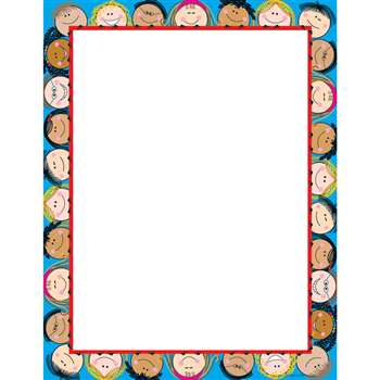 Smiling Stick Kids Computer Paper By Creative Teaching Press