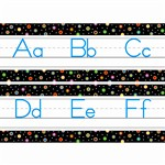 Dots On Black Alphabet Traditional Manuscript By Creative Teaching Press