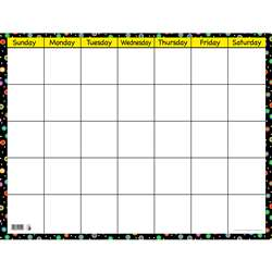 Poppin Patterns Small Calendar Chart By Creative Teaching Press