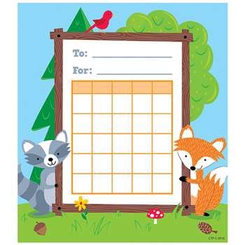 Woodland Friends Student Incentive Chart, CTP1724