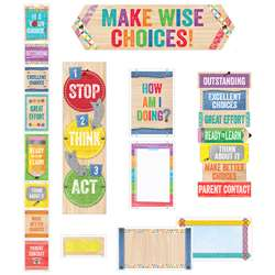 Behavior Clip Chart Mini Bulletin Board Set Upcycl, CTP1757