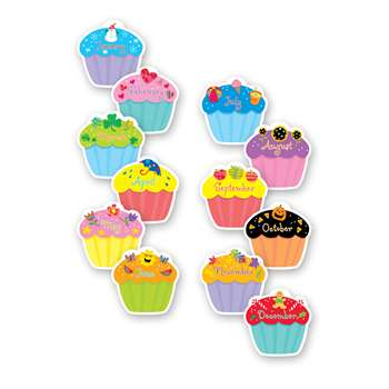 Cupcakes Designer Cut Outs By Creative Teaching Press