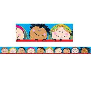 Smiling Stick Kids Border By Creative Teaching Press
