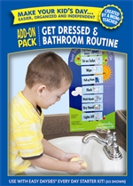 Shop Easy Daysies Get Dressed & Bathroom Routines Add On Kit By Creative Teaching Press
