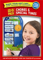 Shop Easy Daysies Chores & Special Times Add On Kit By Creative Teaching Press
