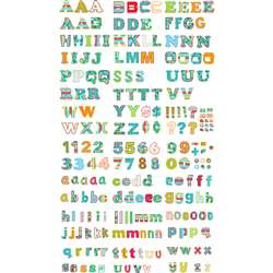 Dots On Turquoise 4In Letters By Creative Teaching Press