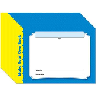 Make Your Own Book 12 Pack, CTP2022