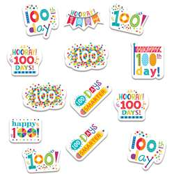 Happy 100Th Day Reward Stickers, CTP2111
