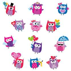 Owl Be Your Valentine Reward Stickers, CTP2113