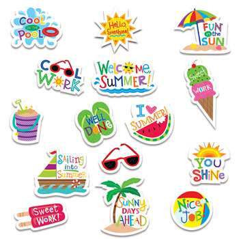 Summer Fun Reward Stickers, CTP2115