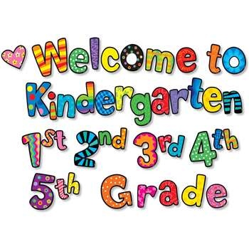 Welcome To Kindergarten 1St 2Nd 3Rd 4Th 5Th Grades Mini-Bb By Creative Teaching Press