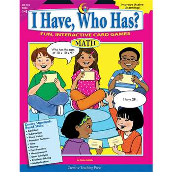 I Have Who Has Math 1-2 By Creative Teaching Press