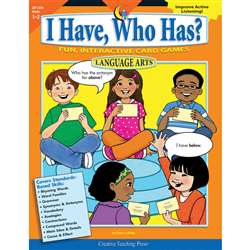 I Have Who Has Language 1-2 By Creative Teaching Press