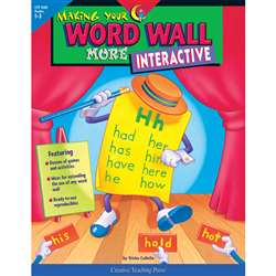Making Your Word Wall More Interact By Creative Teaching Press