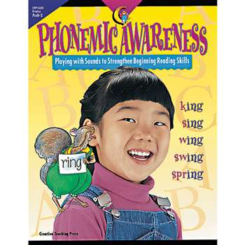 Phonemic Awareness Gr Pk-2 By Creative Teaching Press
