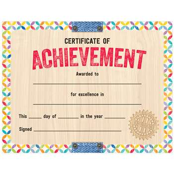 Upcycle Style Certificate Of Achievemnet, CTP2536