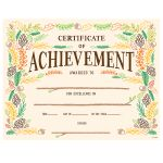 Woodland Friends Certificate Of Achievement, CTP2537
