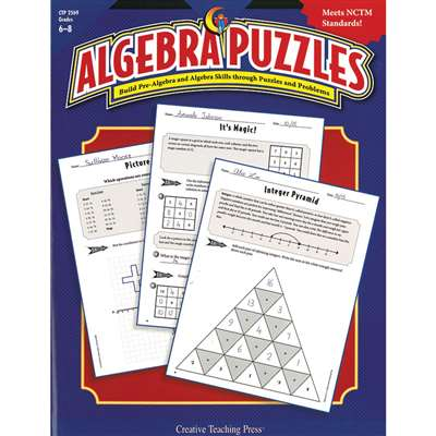 Algebra Puzzles By Creative Teaching Press