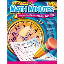 Second-Grade Math Minutes By Creative Teaching Press