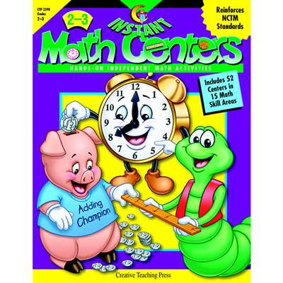 Instant Math Centers Grade 2-3 By Creative Teaching Press